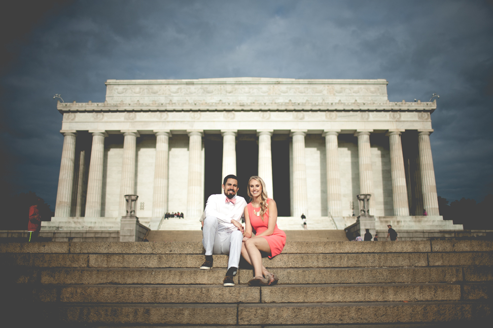 Lincoln Memorial Engagement Portraits (15 of 33)