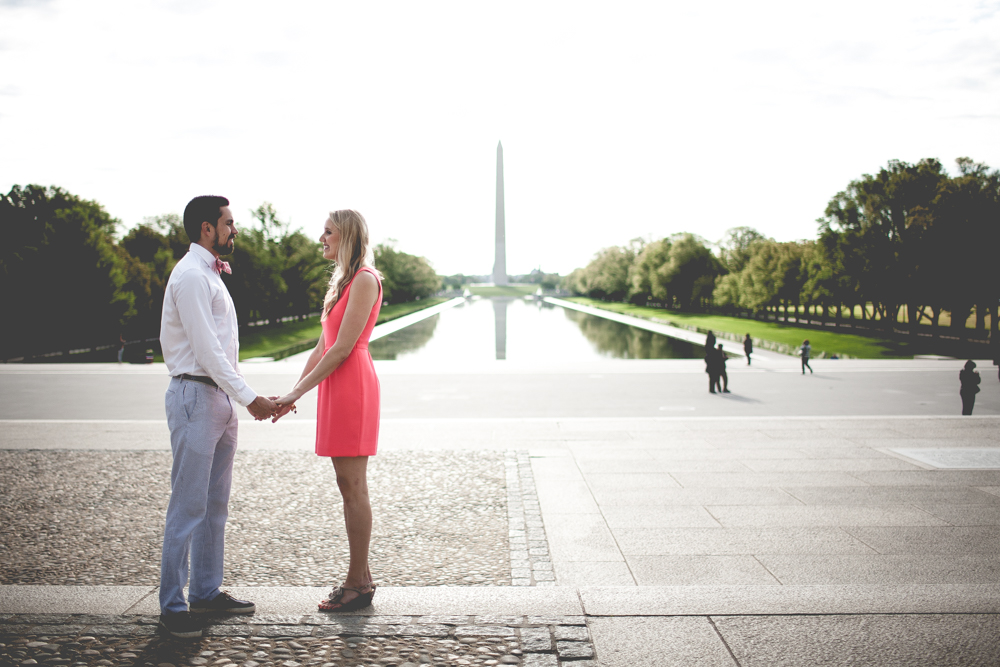 Lincoln Memorial Engagement Portraits (20 of 33)