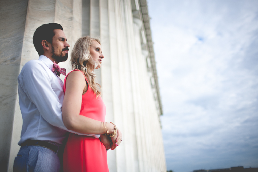Lincoln Memorial Engagement Portraits (28 of 33)