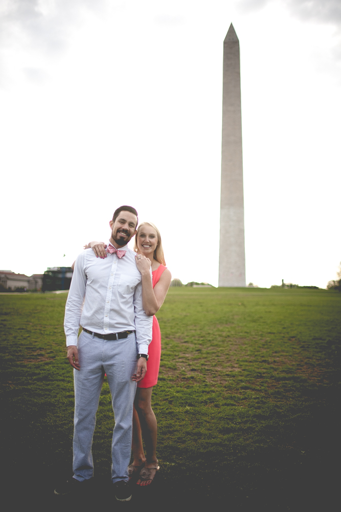 Lincoln Memorial Engagement Portraits (3 of 33)