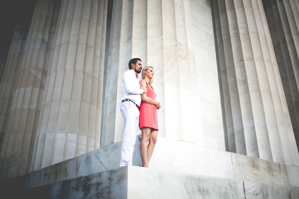 Lincoln Memorial Engagement Portraits (30 of 33)