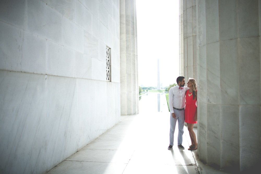Lincoln Memorial Engagement Portraits (31 of 33)