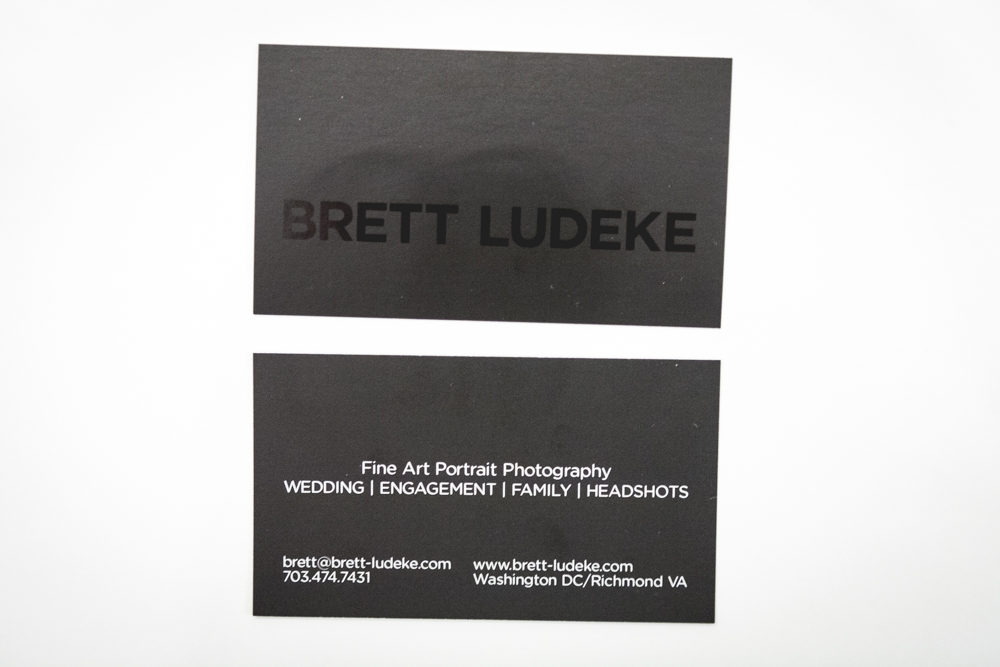 New Business Cards! - Brett Ludeke