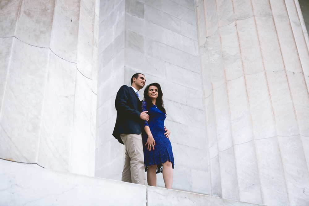 Lincoln Memorial Engagment Photography (1 of 11)