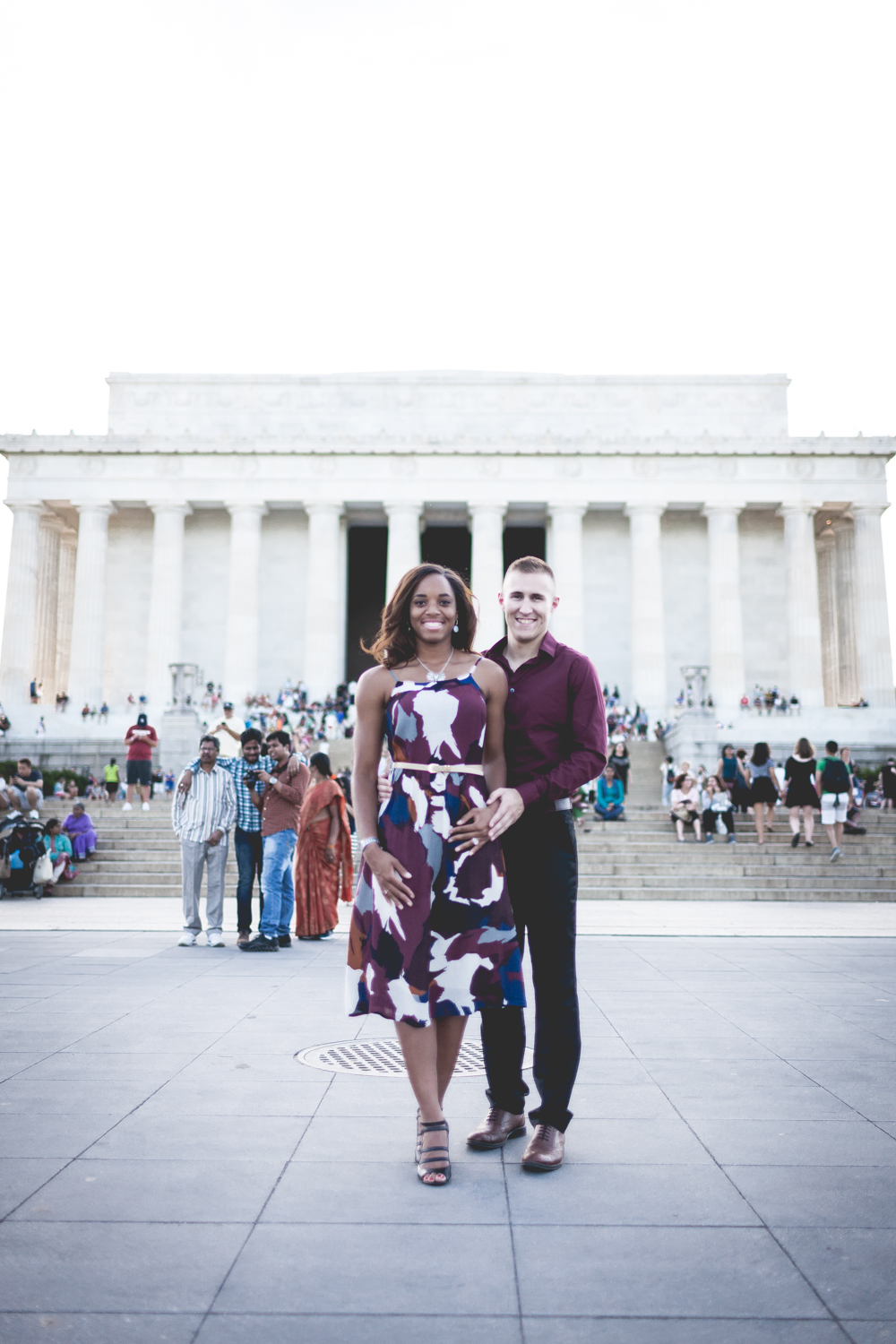 Lincoln Memorial Engagment Photography (5 of 7)