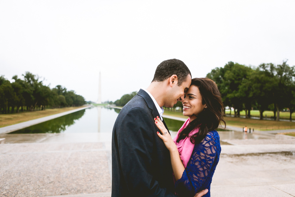Lincoln Memorial Engagment Photography (6 of 11)