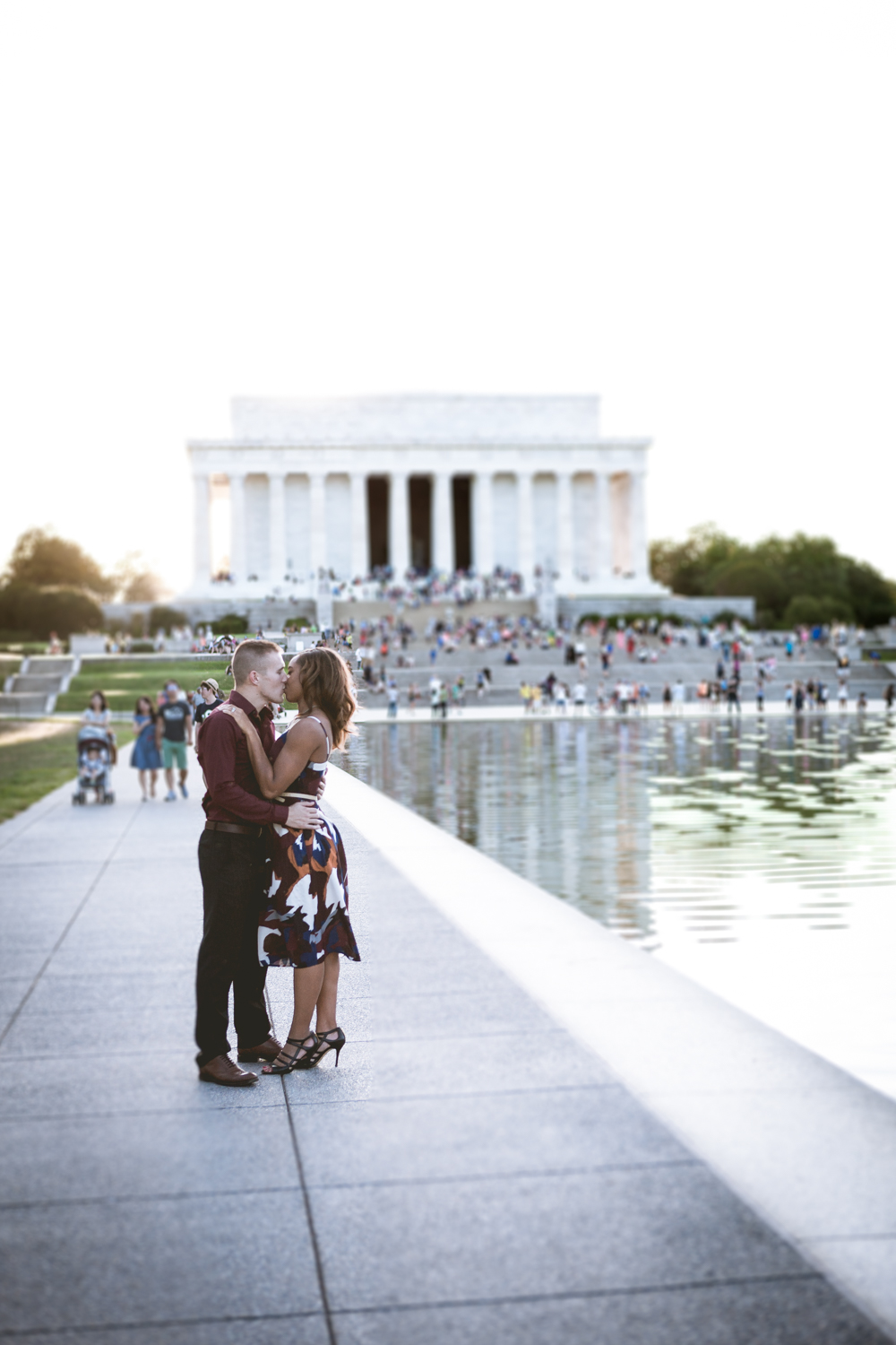 Lincoln Memorial Engagment Photography (6 of 7)