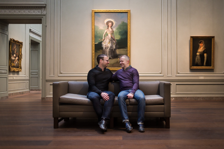 National Gallery of Art Engagement Photo